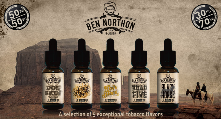 E-liquid Ben Northon vape juice flavors
